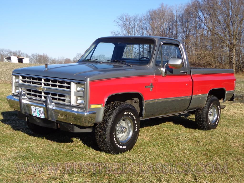 Silverado chevy 1987 silverado : 87 V10 K10 1/2 ton Short Bed SWB Silverado fuel injected 4x4 1987 ...